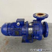 Pompe centrifuge 50m3/h acier KSB type ETB 080-065-200 ETABLOC