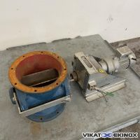 Vanne écluse rotative acier Ø 250 mm VDL HEESEN TECHNOCOM type HT-250