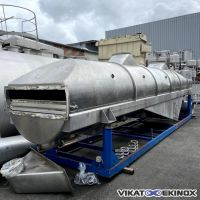 SERIT S/S fluid bed dryer 12.6 m2