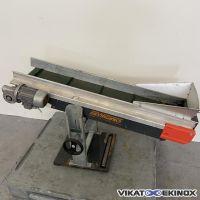 Belt conveyor Length 1300 mm F.LLI VIRGINIO