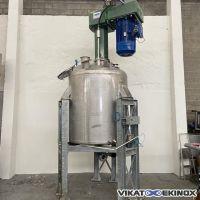 Mélangeur disperseur 55 kw – 2500 litres total
