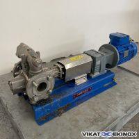 Pompe à palettes MOUVEX type GPE P25B INOX P-KT-ST-C-S  RG-PGSN-CVT-C-7/12