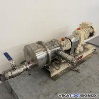 Pompe à piston excentré MOUVEX type C8 I ST-L.VT-CLIVR-S-I/1