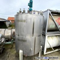 ASTRA S/S mixing tank 18600 litres total