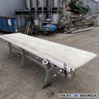 Belt conveyor Length 3835 mm