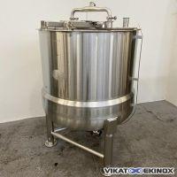S/S double jacket tank 720 litres