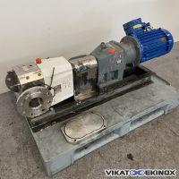 Pompe volumétrique à lobes JOHNSON PUMP type 3/0081 inox