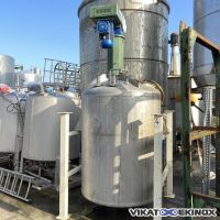 S/S mixing tank 2800 litres